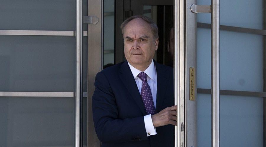 Kremlin names veteran diplomat as ambassador to the U.S.