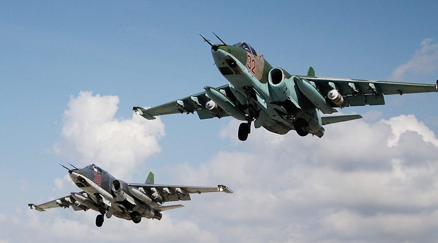 Russian Aerospace forces destroy ISIL convoy heading to Deir ez-Zor