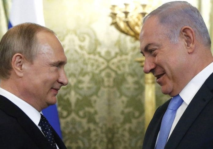 Netanyahu to meet Putin over 'recent development' in Syria
