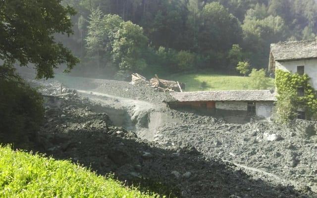 Switzerland landslide: Eight missing in Val Bondasca region