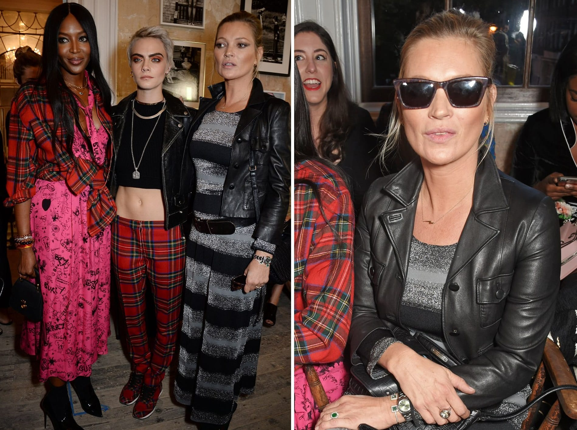Kate Moss and Daughter Lila Grace, Plus Charlie XCX Hit the Front Row at Topshop