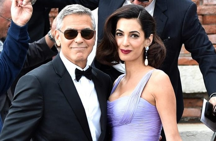 Clooney jokes about becoming U.S. president: 'Sounds like fun'
