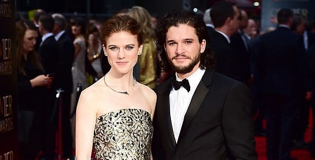 'Game of Thrones' stars Kit Harington and Rose Leslie engaged