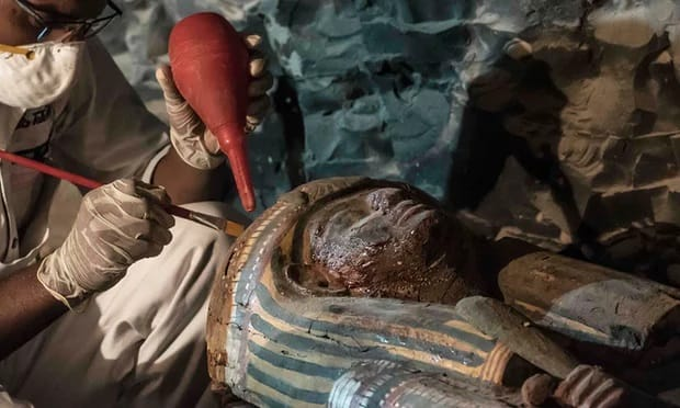 Egypt announces discovery of 3500-year-old tomb in Luxor