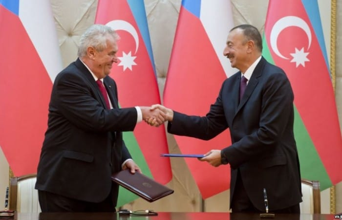President Aliyev announces a new Asia-to-Europe railway route opening up
