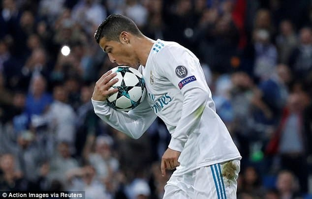 Cristiano Ronaldo tops the Forbes' Rich List of sport stars