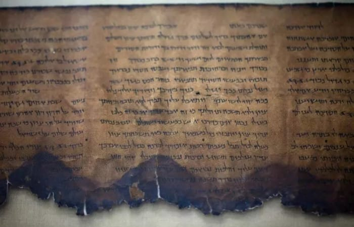 Israeli scientists deciphered mysterious Dead Sea scroll