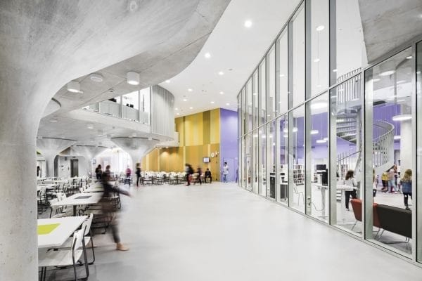 Finland's schools are getting rid of their walls: open-plan environments