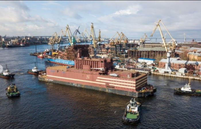 Russia to launch a floating nuclear power plant
