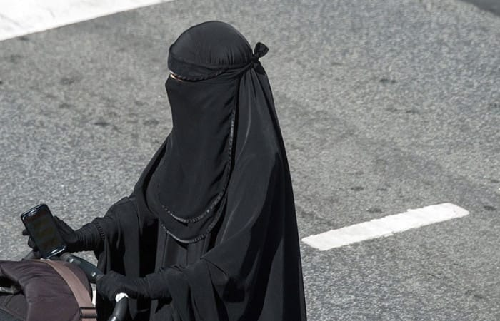 Denmark passed law banning burqa in public spaces