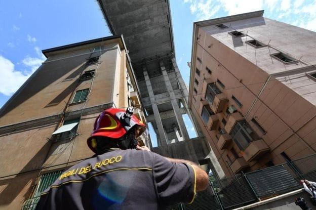 Genoa bridge collapse: Firm controlling bridge must pay to rebuild it