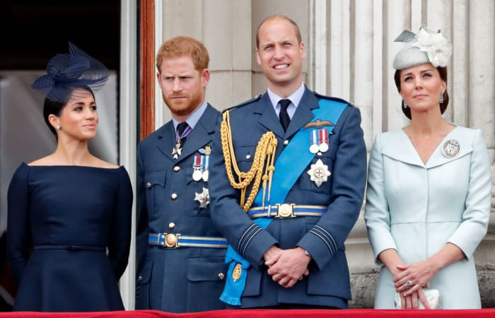 Princes William, Harry reportedly considering 'formal division' as families grow