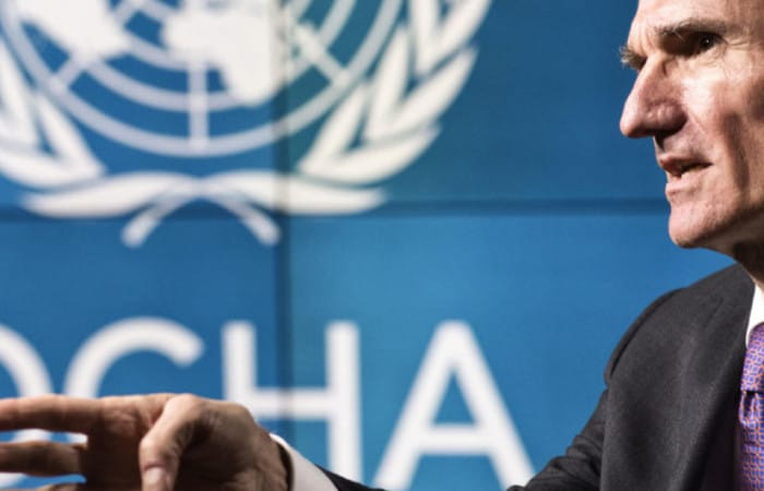 UN humanitarian chief: Yemen at risk of 'big famine'