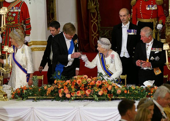 Queen welcomes King Willem-Alexander, Queen Maxima of the Netherlands for UK state visit