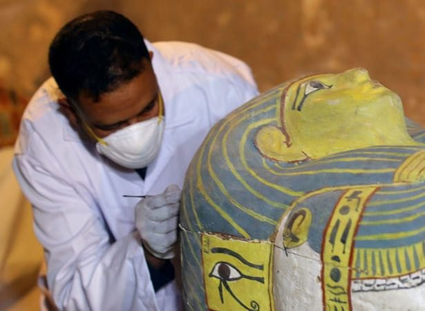 Science: Mummy of 3,000-year-old woman found inside coffin in Luxor, Egypt