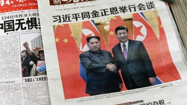 North Korea's Kim Jong Un visits China's Xi Jinping