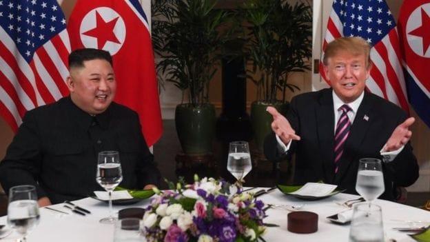 Trump, Kim start Vietnam summit with dinner