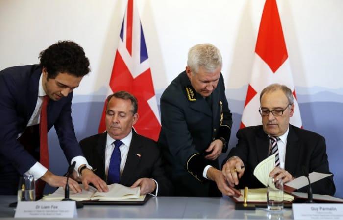 UK, Switzerland complete post-Brexit trade deal