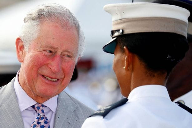 Prince Charles arrives at St Lucia welcome reception without Duchess Camilla
