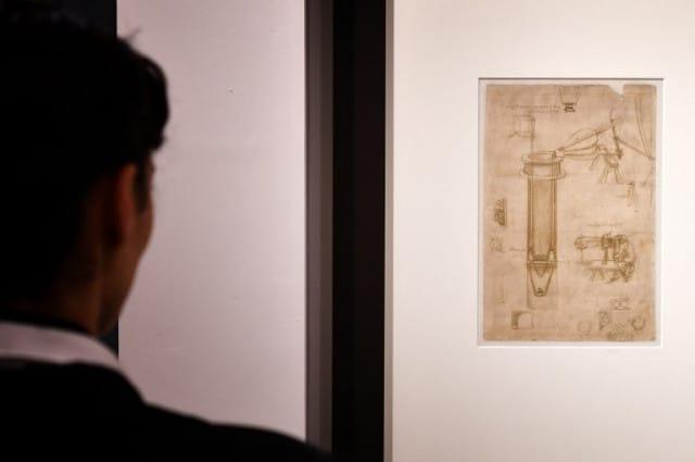 Major Rome exhibition opens celebrating Leonardo da Vinci