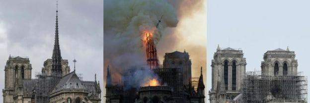France announces international contest to redesign Notre Dame spire