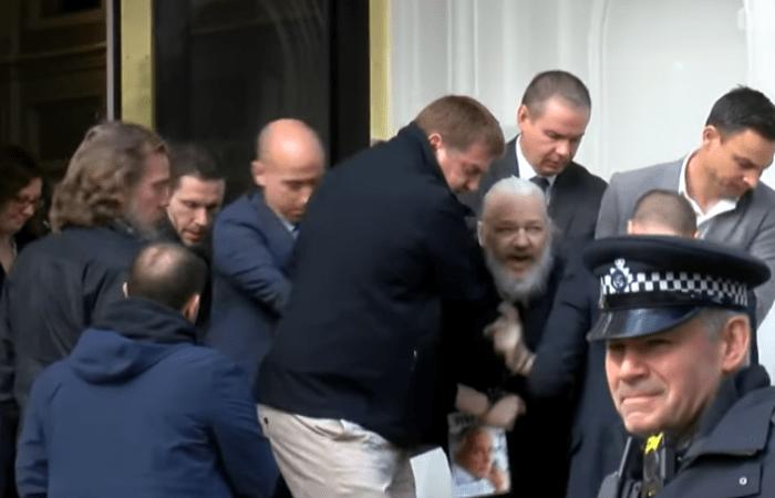 Julian Assange: Wikileaks co-founder arrested in London