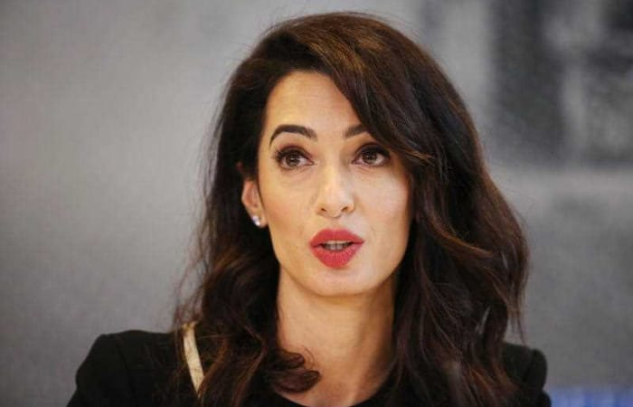 Amal Clooney appointed UK envoy to protect journalists world-wide