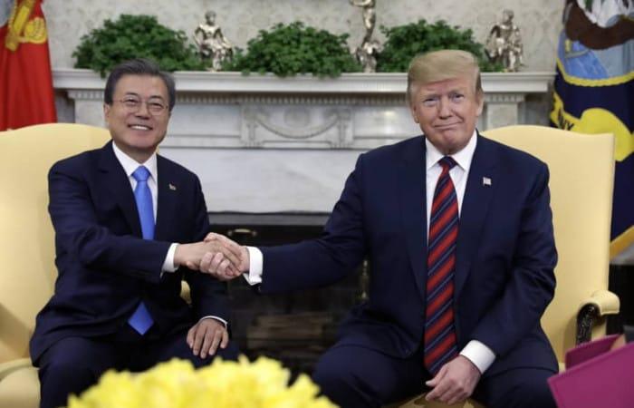Donald Trump floats idea of third North Korea summit despite failed Hanoi talks