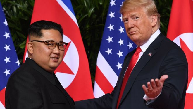 Kim Jong-un receives 'excellent' letter from Trump