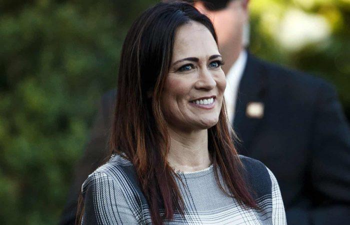 Melania Trump aide Stephanie Grisham named White House press chief