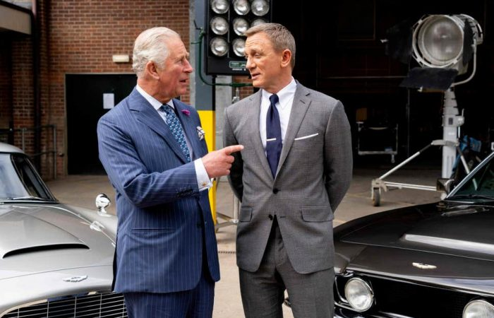 Prince Charles, Daniel Craig met on Bond 25 set
