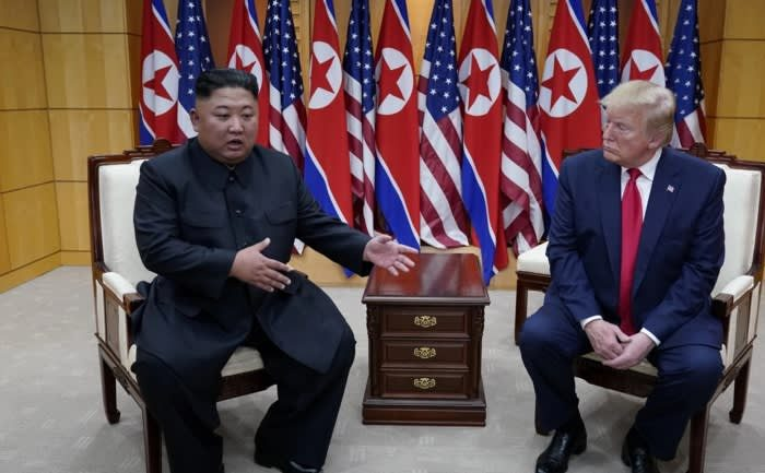 Trump, Kim agree to revive nuclear talks at DMZ meeting