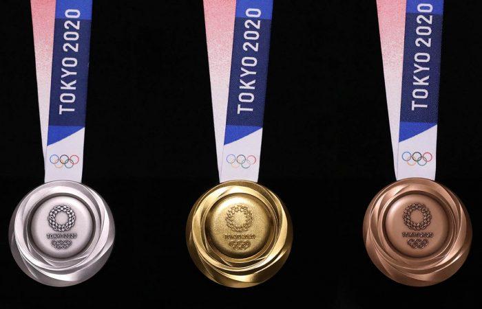 Organizers unveil Tokyo 2020 medals