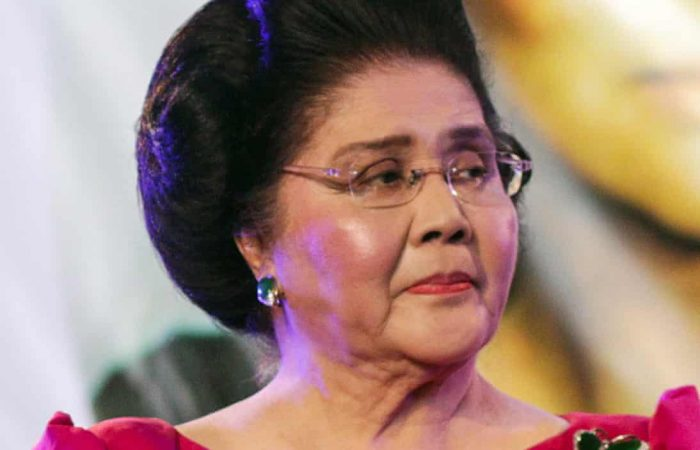 Imelda Marcos party guests struck by 'food poisoning'