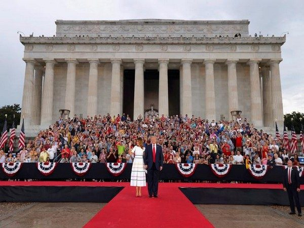 President Trump marks July 4th celebrations with tanks, jets