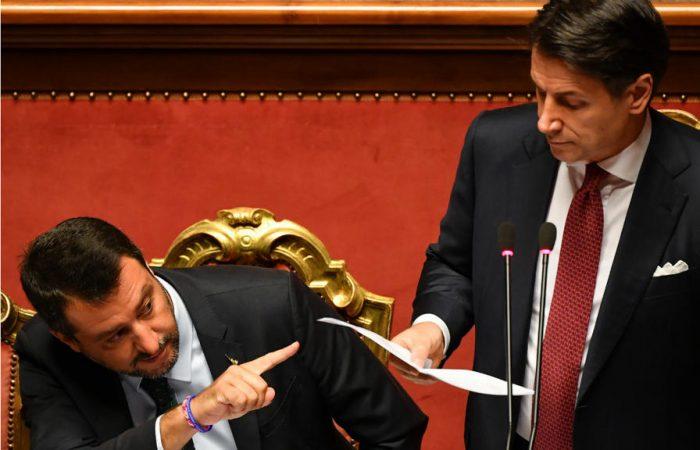 Italian PM Conte to form new government