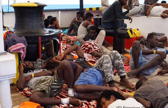 Spain criticised Italy for non-welcoming migrants