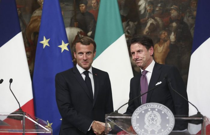France, Italy hold talks over migrant policy in Rome