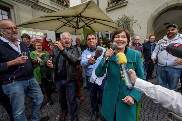 Green parties make history in Swiss elections