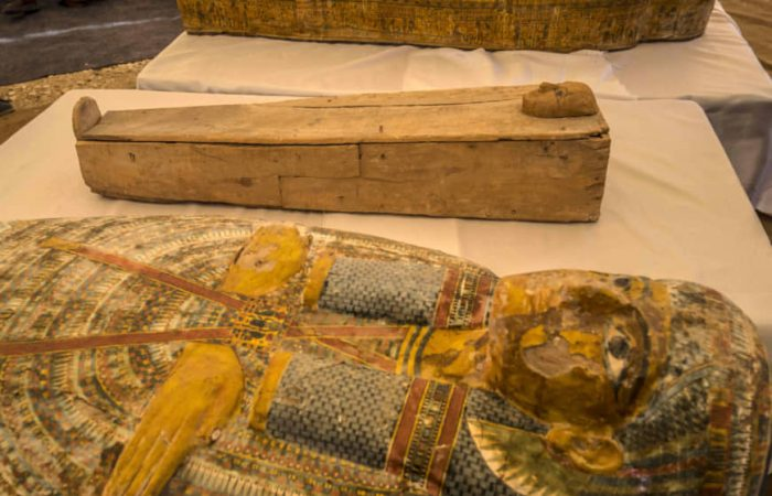 Egypt expounds on 'exceptional' 30-coffin discovery in Luxor