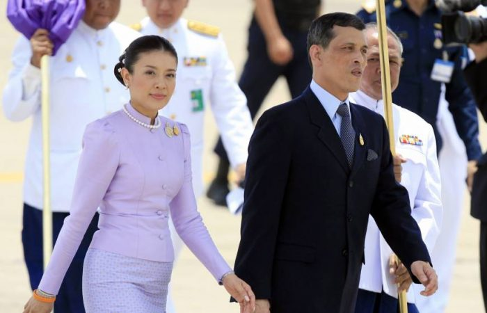 Future Thai queen relinquishes royal title over family scandal