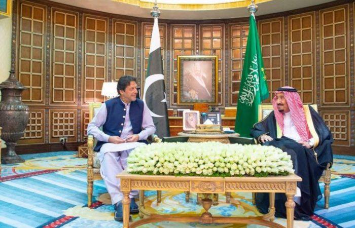 Imran Khan arrived Riyadh for meeting with King Salman