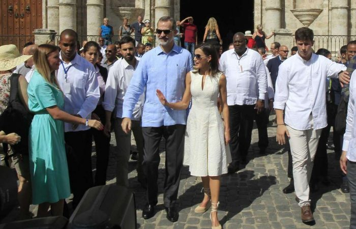 Spanish king, Cuban president meet in Havana