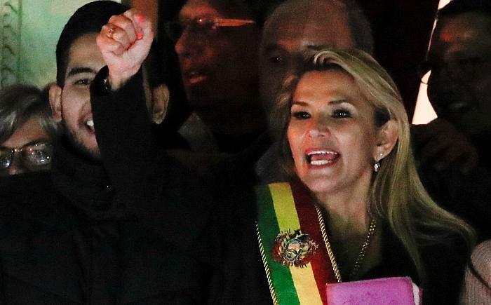 Bolivia: opposition senator Áñez declares herself interim president