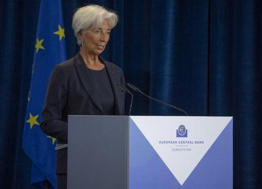 Christine Lagarde takes charge of the European Central Bank