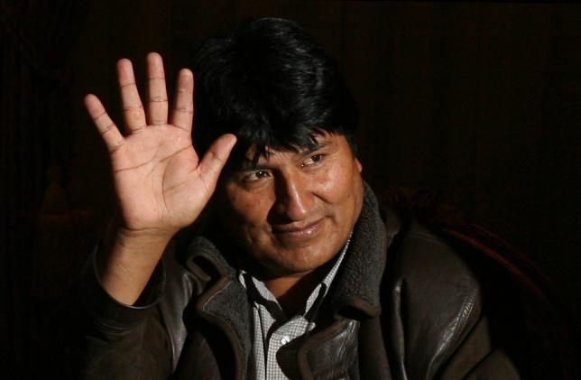 Evo Morales steps down