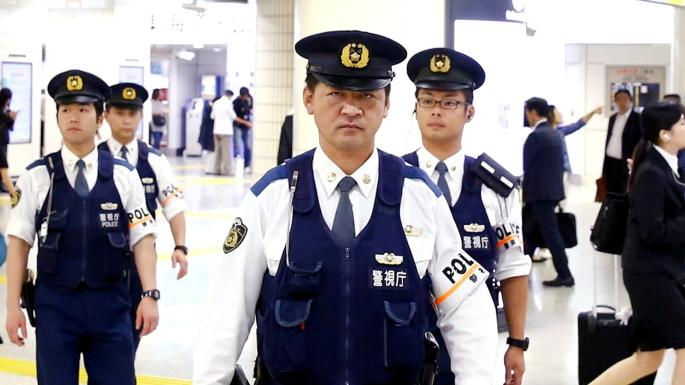 Japanese police seized the record haul of cocaine