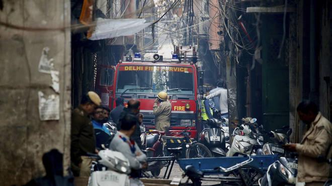 Fire in Delhi factory: Blazes kill at least 43 in India