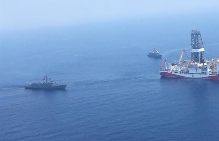 Turkish navy orders Israeli ship out of Cyprus's waters