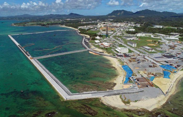 Okinawa governor renews demand to stop US base relocation plan